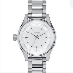 Nixon Facet 38 Silver Watch